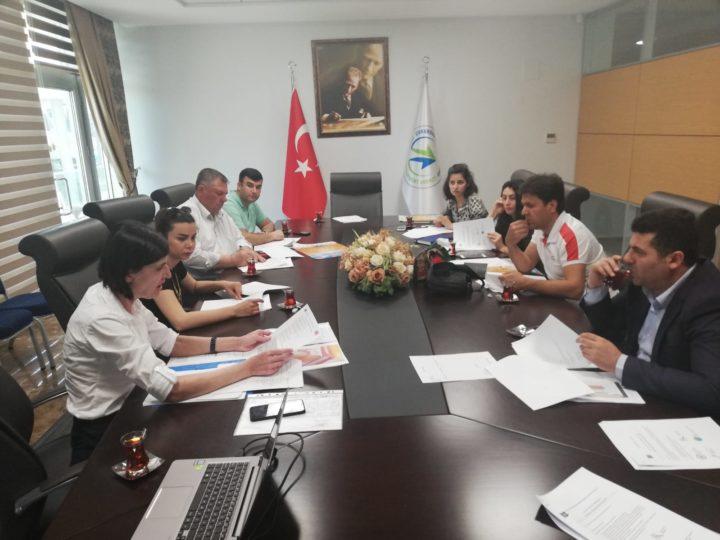 1.ulusötesi toplantının yerel ortaklarla değerlendirilmesi