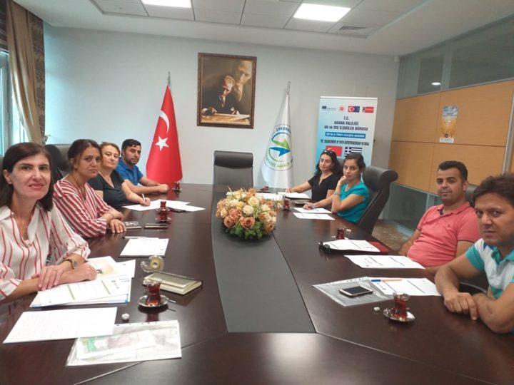 Eye in Rural Projesi'nin 4.yerel Koordinasyon toplantısı yapıldı.